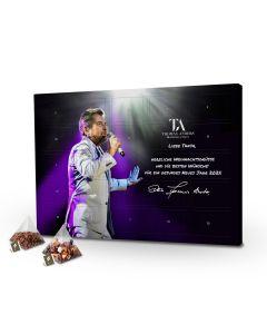 Tee-Adventskalender mit Wunschnamen personalisiert